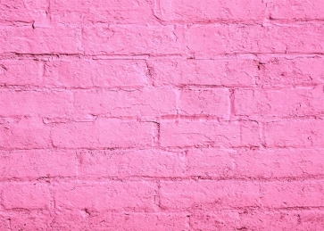 Beautiful Pink Brick Wall Background Party Photography Backdrop