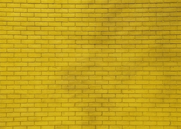 Yellow Brick Wall Backdrop Studio Decoration Prop Photo Booth Video Photography Background