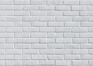 Retro White Brick Wall Backdrop Studio Decoration Prop Video Photography Background