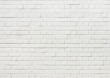 Vintage White Brick Wall Backdrop Studio Photo Booth Photography Background