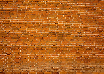 Outdoor Retro Brown  Brick Wall Backdrops Studio Party Photography Background