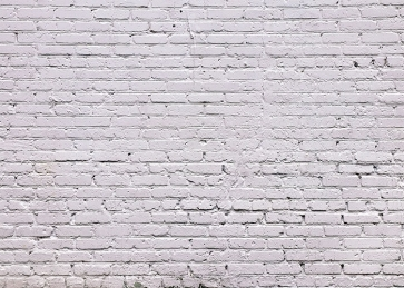 Rustic White Brick Backdrop Studio Party Photography Background