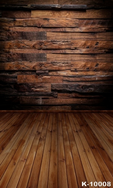 Personalized Vinyl Wooden Floor Wall Photography Background