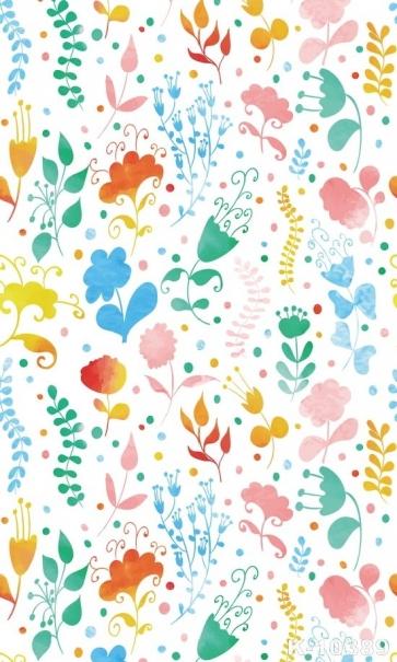 Beautiful Floral Print Personalized Backdrop Vinyl Studio Photography Backdrops