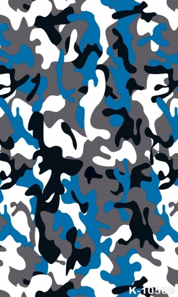 Personalized Camouflage Vinyl Photography Backdrops
