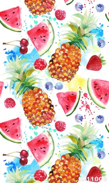 Various Fruits Personalized Backdrop Vinyl Photography Backdrops