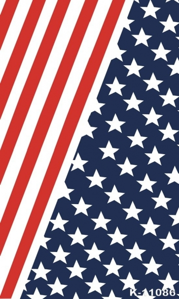 Flag of the United States Stars and Stripes Personalized Backdrop Studio Background