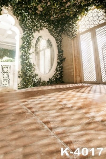 Marriage Auditorium Mirror Flowers Wedding Photo Backdrops