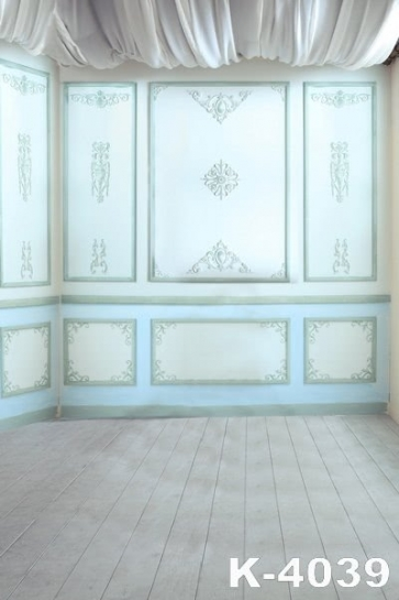 Simple Stereoscopic Indoor Plank Floor Studio Background Wedding Photo Backdrops