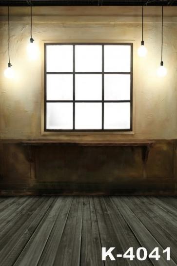 Retro Indoor Lighting Vinyl Studio Wedding Photo Backdrops