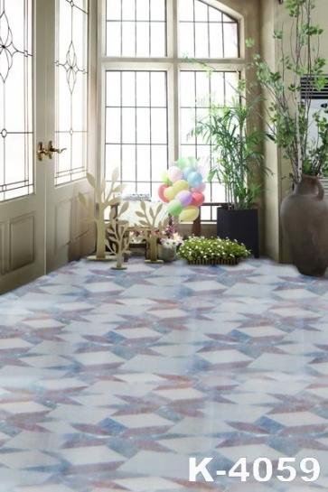 Cozy Indoor Green Plants Colorful Balloons Vinyl Wedding Photo Backdrops