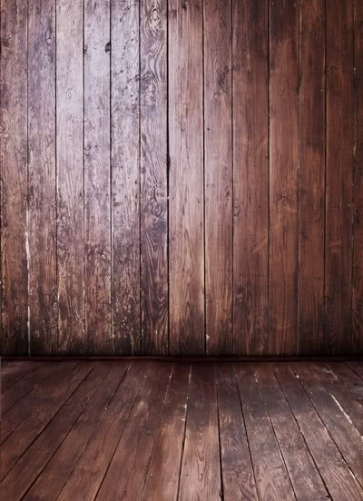 New Fashion Dark Color Wood Grain Vinyl Background Backdrops