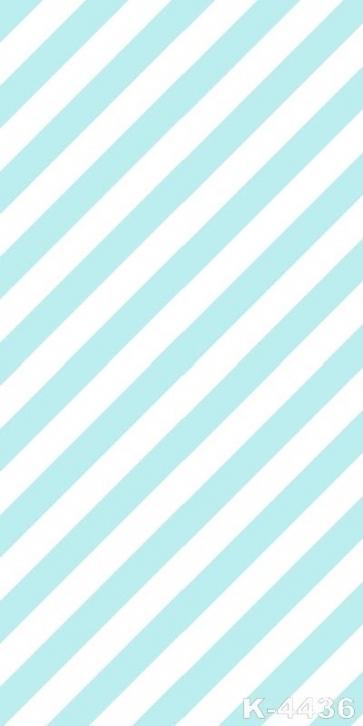 Diagonal Blue White Stripes Vinyl Photography Backdrops Personalized Backdrop