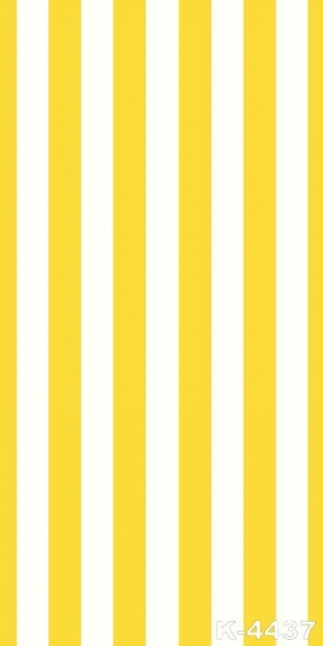 Simple Yellow White Stripes Personalized Backdrop Vinyl Photography Backdrops
