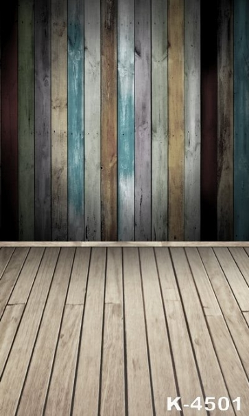 Paint Vertical Type Wood Photography Photo Studio Vinyl Backdrops