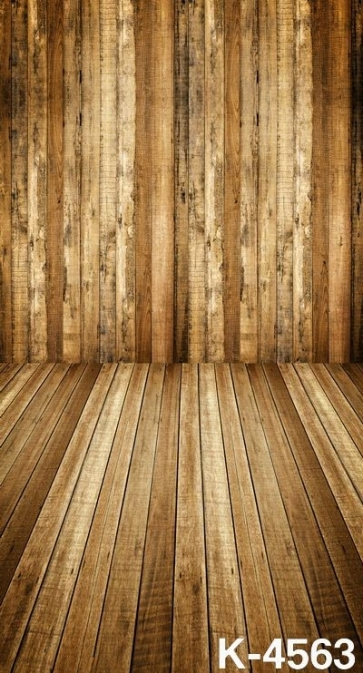 Fashion Durable Wooden Background Vinyl Attractive Backdrop