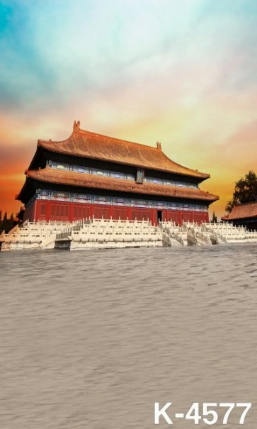 Chinese Ancient Palace The Forbidden City Building Scenic Backdrops Studio Background Vinyl Photography Backdrops