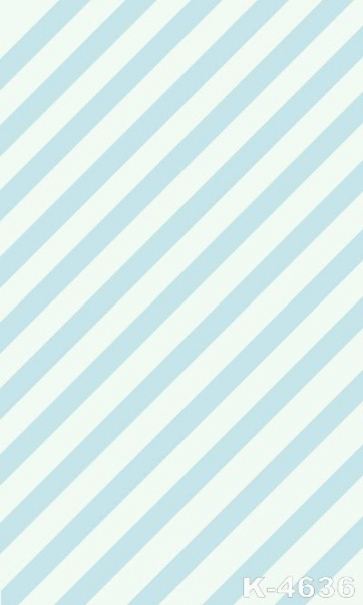 Blue White Diagonal Stripes Vinyl Personalized Backdrop