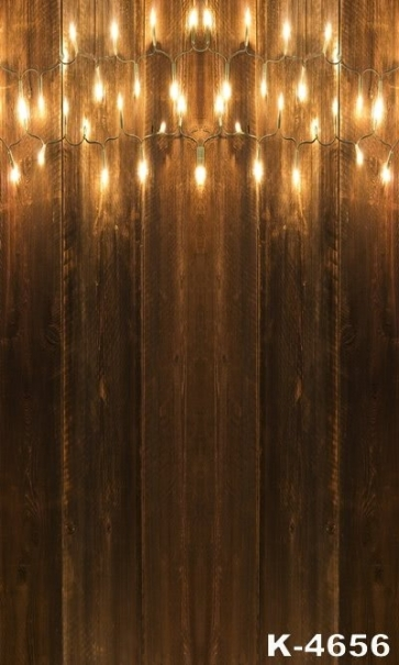 Wooden Wall And Light Combined Vinyl Photography Studio Backdrops