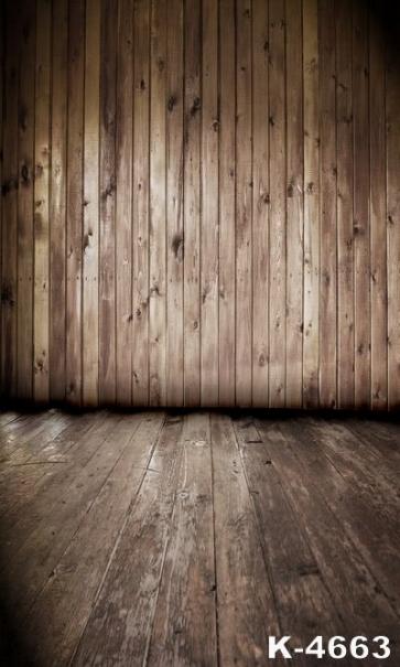 Vinyl Photography Background Wooden Floor Wall Custom Backdrop
