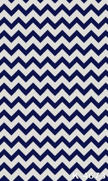 Personalized Blue White Wave Stripes Vinyl Studio Photography Backdrops