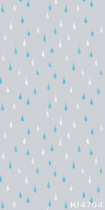 Simple Raindrop Grey Vinyl Photography Studio Background