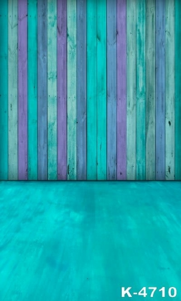 Multicolor Wooden Wall Photography Background Custom Backdrops