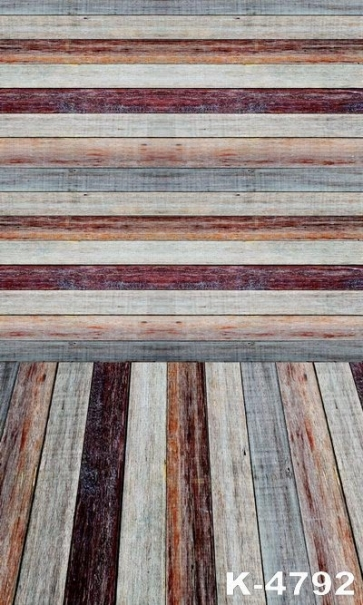 Different Colors Vinyl  Wooden Floor Wall Custom Backdrop Photography Background