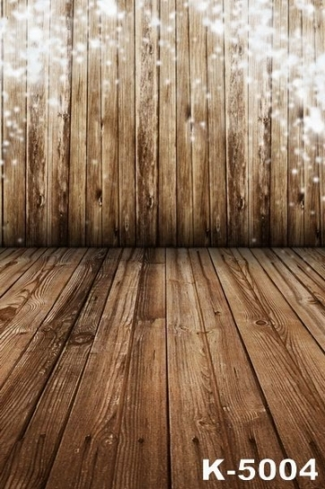 Snowflake Wooden Floor Wall Background Photo Studio Backdrops