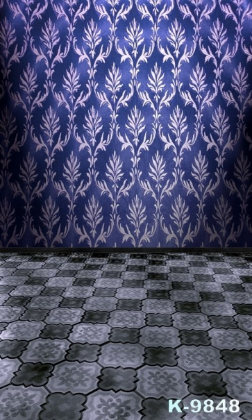 Two Different Patterns Of Wallpaper Combination Custom Vinyl Photography Backdrops