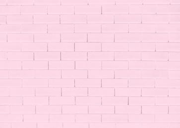 Light Pink Brick Background Studio Photography Party Backdrop
