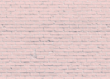 Light Pink Brick Wall Background Party Photography Backdrop