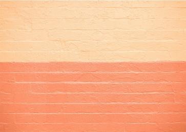 Personalized Yellow And Orange Brick Wall Background Studio Photography Backdrop