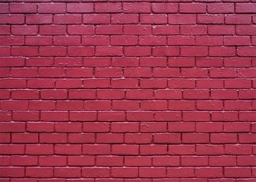 Retro Red Brick Wall Background Studio Photography Backdrop