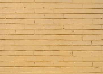 Retro Yellow Brick Wall Background Party Photography Backdrop