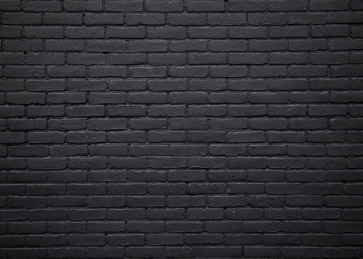 Black Brick Wall Backdrop Party Photography Background