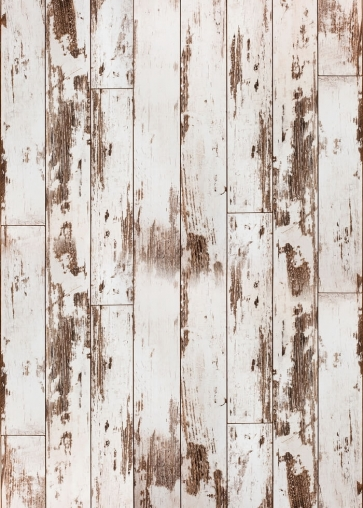White Old Vinyl Wood Backdrop Studio Photography Background