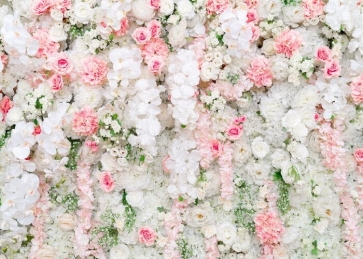 Floral Wall Backdrop Wedding Bridal Baby Shower Birthday Party Photography Background