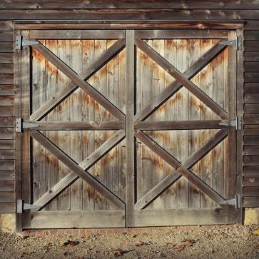 Retro Wood Front Door Backdrop Photo Studio Photography Background