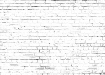 Retro White Rustic Brick Wall Backdrop Video Studio Photography Background