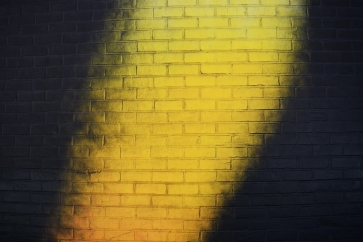 Yellow And Black Personalized Brick Wall Background Studio Photography Backdrop