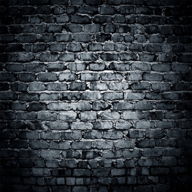 Darky Gray Brick Wall Backdrop Vinyl Studio Background