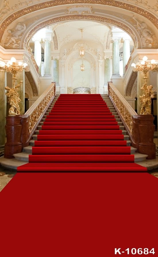 Grand Hall Red Carpet Stairs Wedding Best Large