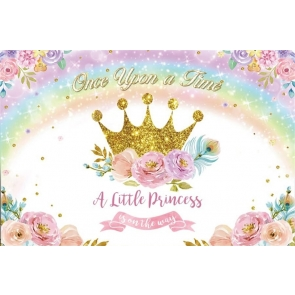 Little Princess First Birthday Backdrop Decoration Prop Photography Background