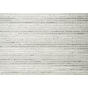 White Brick Wall Backdrop Studio Decoration Prop Photo Booth Video Photography Background