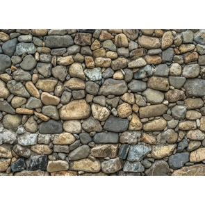 Retro Cobblestone Wall Backdrop Studio Photography Background Video Decoration Prop