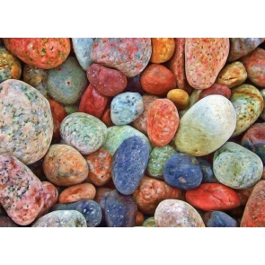 Colored Cobblestone Backdrop Decoration Prop Studio Photography Colorful Background