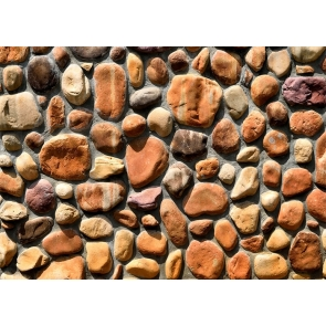 Cobblestone Wall Backdrop Decoration Prop Studio Photography Background