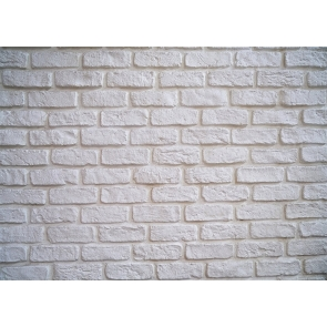 White Brick Wall Backdrop Photo Booth Photography Background Decoration Prop