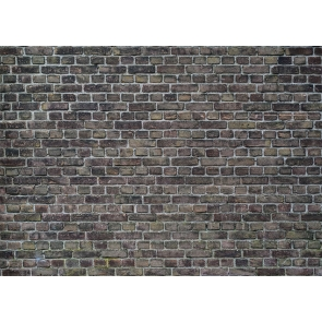 Retro Personalise Grey Brick Wall Backdrop Decoration Prop Studio Photo Booth Video Photography Background